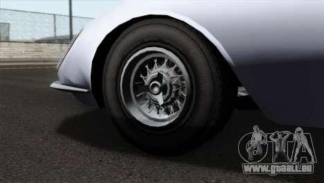 GTA 5 Grotti Stinger v2 IVF pour GTA San Andreas sur la vue arrière gauche