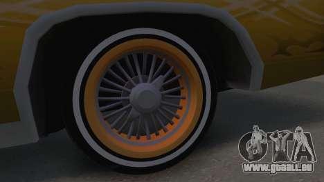 Cadillac Eldorado für GTA San Andreas zurück linke Ansicht