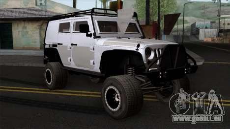 Jeep Wrangler 2013 Fast & Furious Edition für GTA San Andreas