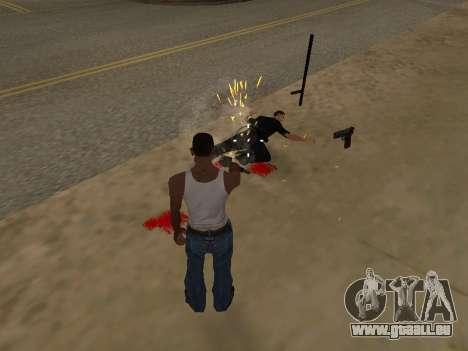 Surdosage effets (sans poussière) pour GTA San Andreas troisième écran