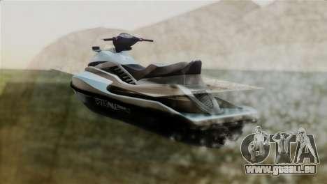 Seashark from GTA 5 pour GTA San Andreas laissé vue
