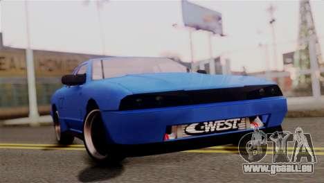Elegy Full Customizing pour GTA San Andreas