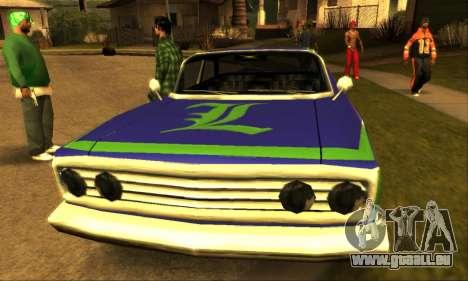 Luni Voodoo für GTA San Andreas Innenansicht