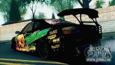 Nissan Silvia S15 Itasha für GTA San Andreas linke Ansicht