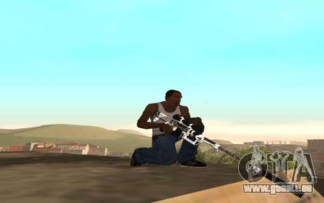 Skeleton Weapon Pack für GTA San Andreas dritten Screenshot