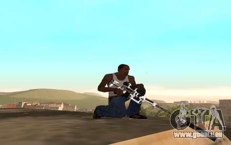 Skeleton Weapon Pack pour GTA San Andreas troisième écran