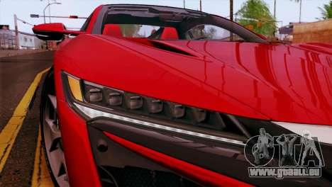 Nissan GT-R für GTA San Andreas Seitenansicht