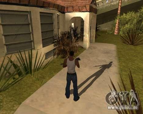 Die Schatten von Menschen und Autos für GTA San Andreas