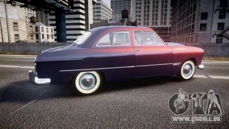Ford Custom Tudor 1949 v2.2 pour GTA 4 est une gauche