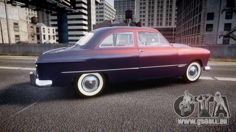 Ford Custom Tudor 1949 v2.2 für GTA 4 linke Ansicht