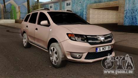 Dacia Logan MCV 2013 IVF pour GTA San Andreas