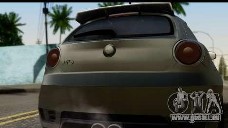 Alfa Romeo Mito Tuning pour GTA San Andreas vue de droite