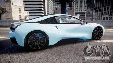 BMW i8 2013 für GTA 4 linke Ansicht