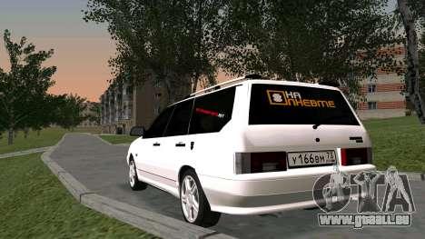 2115 Universelle БПАN pour GTA San Andreas vue intérieure