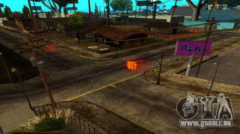 HQ Roads 2015 pour GTA San Andreas quatrième écran