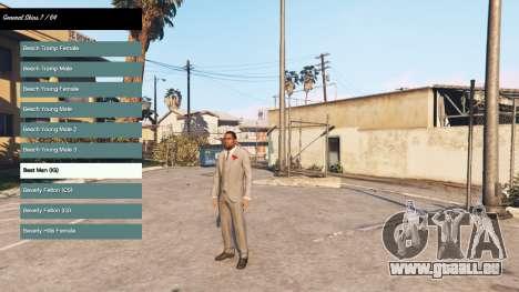 Veränderung des Charakters v2.0 für GTA 5
