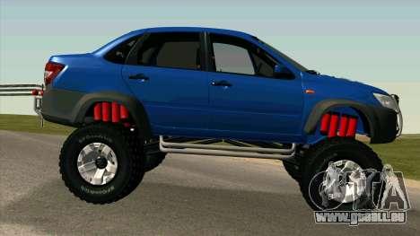 VAZ 2190 Subvention pour GTA San Andreas