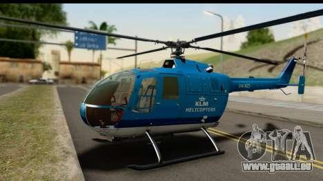 MBB Bo-105 KLM pour GTA San Andreas