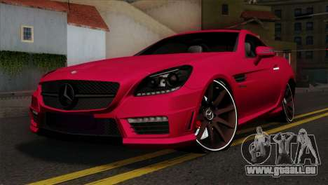 Mercedes-Benz SLK55 AMG 2012 pour GTA San Andreas
