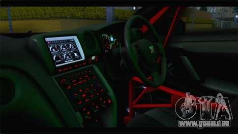 Nissan Skyline GTR Rockstar Energy pour GTA San Andreas vue arrière