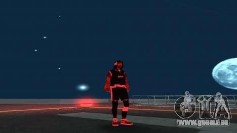 Austausch der Obdachlosen v1 für GTA San Andreas zweiten Screenshot