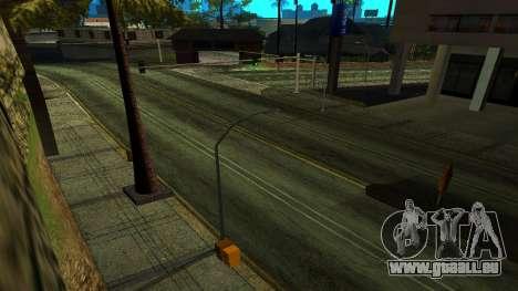 HQ Roads 2015 pour GTA San Andreas troisième écran