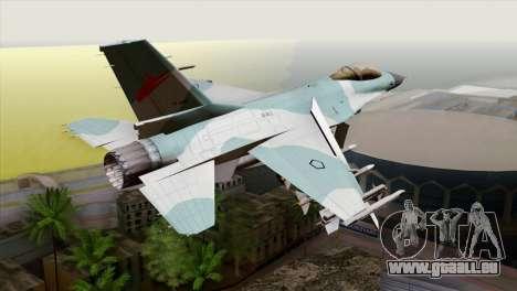 F-16C TNI Angkatan Udara für GTA San Andreas linke Ansicht