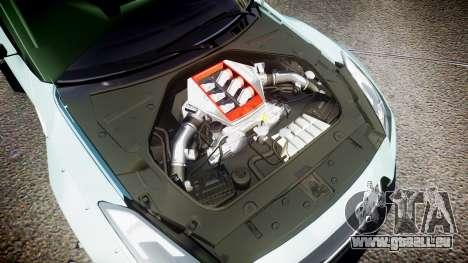 Nissan GT-R R35 Rocket Bunny [Update] pour GTA 4 est un côté