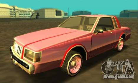 Majestic Restyle pour GTA San Andreas roue