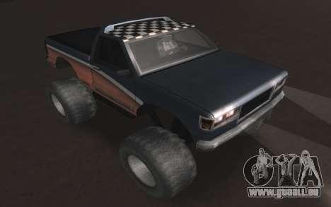 Neue Texturen Letzte Monster für GTA San Andreas rechten Ansicht