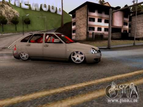 ВАЗ 2172 (Lada Priora) pour GTA San Andreas laissé vue