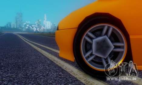 Elegy Hatchback v.1 für GTA San Andreas obere Ansicht