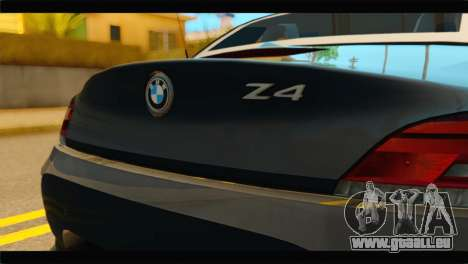 BMW Z4 sDrive35is 2011 für GTA San Andreas Rückansicht