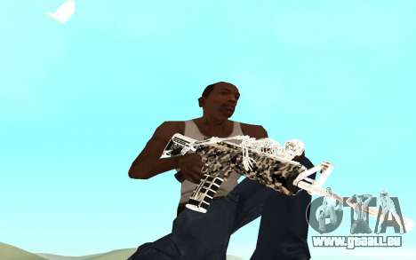 Skeleton Weapon Pack für GTA San Andreas zweiten Screenshot