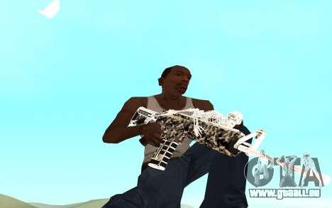 Skeleton Weapon Pack pour GTA San Andreas deuxième écran