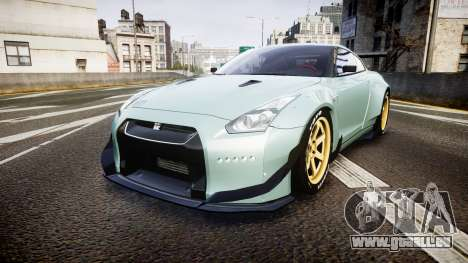 Nissan GT-R R35 Rocket Bunny [Update] pour GTA 4