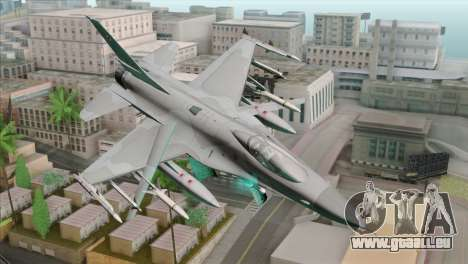 F-16C Jastrzab für GTA San Andreas