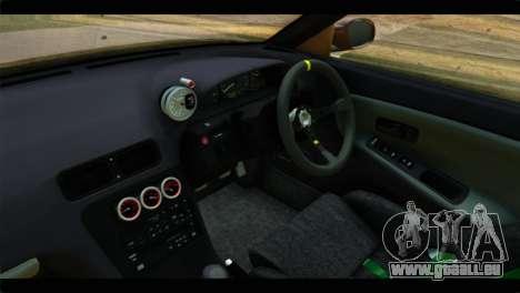 Nissan Silvia pour GTA San Andreas vue de droite