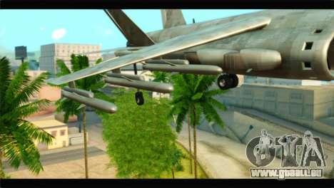 Mammoth Hydra v1 pour GTA San Andreas vue de droite