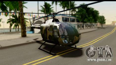 MBB Bo-105 Army für GTA San Andreas