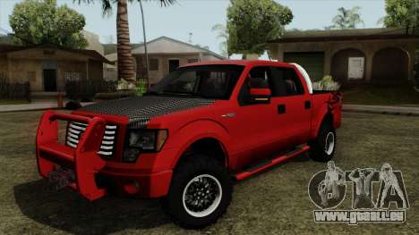 Ford F150 Off Road für GTA San Andreas