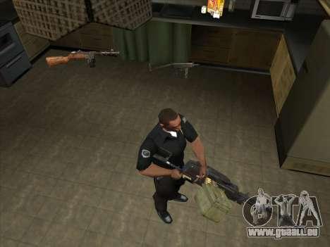 CORDON de Battelfield 2 pour GTA San Andreas quatrième écran