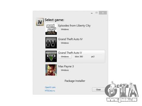 OpenIV 2.5 für GTA 5
