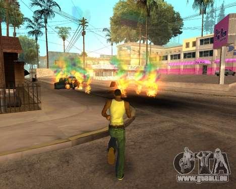 Rainbow Effects für GTA San Andreas neunten Screenshot