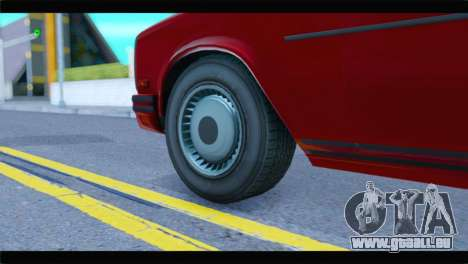 GTA 5 Benefactor Glendale Special IVF pour GTA San Andreas sur la vue arrière gauche