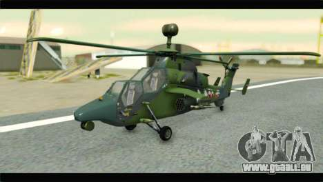 Eurocopter Tiger Polish Air Force pour GTA San Andreas