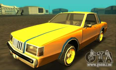 Majestic Restyle pour GTA San Andreas