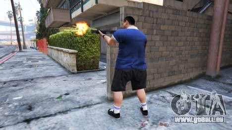 GTA 5 Ped Riot (ein Aufstand der Bürger von Los Santos zweite Screenshot