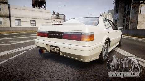Dinka Hakumai HuST Edition pour GTA 4 Vue arrière de la gauche
