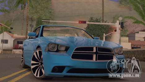 Dodge Charger SRT8 2012 Stock Version pour GTA San Andreas